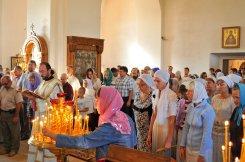 300 фото с храмового праздника Преображение Господне Спасо-Преображенского скита Ионинского монастыря 80