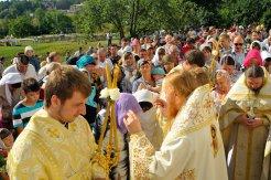 300 фото с храмового праздника Преображение Господне Спасо-Преображенского скита Ионинского монастыря 224