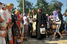 300 фото с храмового праздника Преображение Господне Спасо-Преображенского скита Ионинского монастыря 254