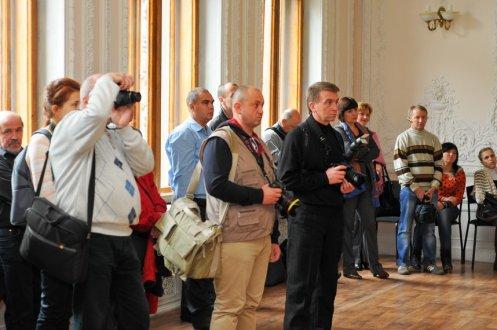 """Первая фотовыставка """"Украина православная"""" открыта в Шоколадном домике. 47"""