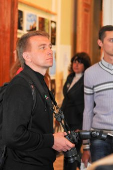 """Первая фотовыставка """"Украина православная"""" открыта в Шоколадном домике. 56"""