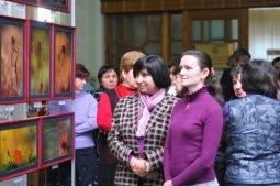 То, что радует глаз и где отдыхает душа. Выставка Вячеслава Мищенко в Национальной Парламентской библиотеке Украины. 7