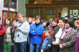 То, что радует глаз и где отдыхает душа. Выставка Вячеслава Мищенко в Национальной Парламентской библиотеке Украины. 8