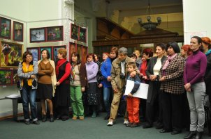 То, что радует глаз и где отдыхает душа. Выставка Вячеслава Мищенко в Национальной Парламентской библиотеке Украины. 11