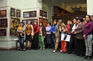 То, что радует глаз и где отдыхает душа. Выставка Вячеслава Мищенко в Национальной Парламентской библиотеке Украины. 15
