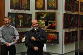 То, что радует глаз и где отдыхает душа. Выставка Вячеслава Мищенко в Национальной Парламентской библиотеке Украины. 22