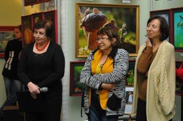 То, что радует глаз и где отдыхает душа. Выставка Вячеслава Мищенко в Национальной Парламентской библиотеке Украины. 34