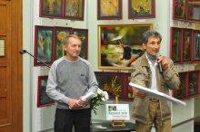 То, что радует глаз и где отдыхает душа. Выставка Вячеслава Мищенко в Национальной Парламентской библиотеке Украины. 45