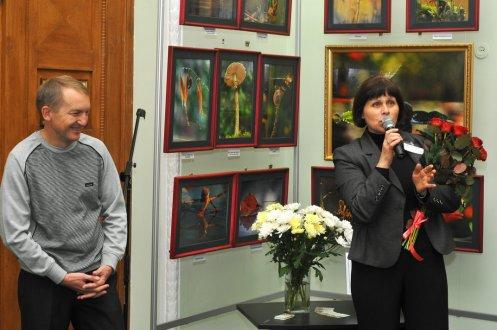 То, что радует глаз и где отдыхает душа. Выставка Вячеслава Мищенко в Национальной Парламентской библиотеке Украины. 54