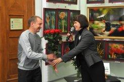 То, что радует глаз и где отдыхает душа. Выставка Вячеслава Мищенко в Национальной Парламентской библиотеке Украины. 56