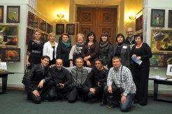 То, что радует глаз и где отдыхает душа. Выставка Вячеслава Мищенко в Национальной Парламентской библиотеке Украины. 61