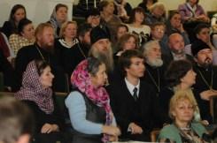 Вечер памяти о. Лонгина в Доме учителя 39