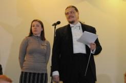 Вечер памяти о. Лонгина в Доме учителя 48