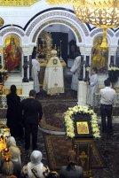 Несколько фотографий с Рождественской службы из Свято-Троицкого Китаевского мужского монастыря. 3