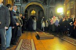 Фотографии с Рождественской службы в СвятоТроицком Ионинском монастыре 5