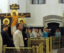 Несколько фотографий с Рождественской службы из Свято-Троицкого Китаевского мужского монастыря. 21