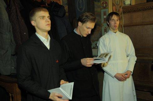 Фотографии с Рождественской службы в СвятоТроицком Ионинском монастыре 23