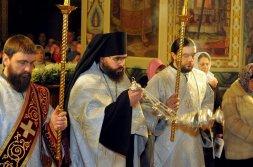 Фотографии с Рождественской службы в СвятоТроицком Ионинском монастыре 29