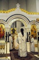 Несколько фотографий с Рождественской службы из Свято-Троицкого Китаевского мужского монастыря. 38