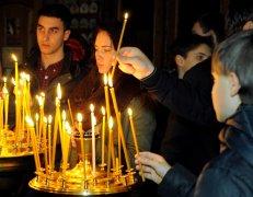 Фотографии с Рождественской службы в СвятоТроицком Ионинском монастыре 40