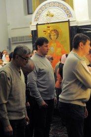 Несколько фотографий с Рождественской службы из Свято-Троицкого Китаевского мужского монастыря. 43