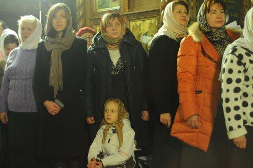 Фотографии с Рождественской службы в СвятоТроицком Ионинском монастыре 80
