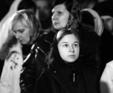 Фотографии с Рождественской службы в СвятоТроицком Ионинском монастыре 89