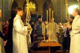 Фотографии с Рождественской службы в СвятоТроицком Ионинском монастыре 107