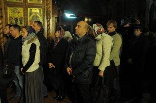 Фотографии с Рождественской службы в СвятоТроицком Ионинском монастыре 127