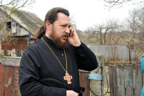 Протоиерей Александр Журавлев, настоятель храма св. Георгия в с. Заворичи
