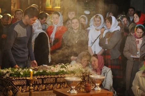 Фото репортаж со Свято-Троицкого Ионинского монастыря г.Киев со Светлого Праздника Воскресения Христова. 22