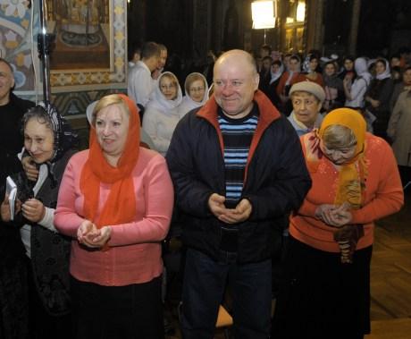 Фото репортаж со Свято-Троицкого Ионинского монастыря г.Киев со Светлого Праздника Воскресения Христова. 199