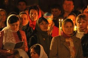 Фото репортаж со Свято-Троицкого Ионинского монастыря г.Киев со Светлого Праздника Воскресения Христова. 225