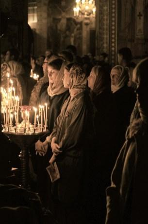 Фото репортаж со Свято-Троицкого Ионинского монастыря г.Киев со Светлого Праздника Воскресения Христова. 249