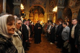 Фото репортаж со Свято-Троицкого Ионинского монастыря г.Киев со Светлого Праздника Воскресения Христова. 257