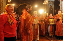 Фото репортаж со Свято-Троицкого Ионинского монастыря г.Киев со Светлого Праздника Воскресения Христова. 149