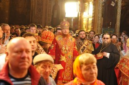 Фото репортаж со Свято-Троицкого Ионинского монастыря г.Киев со Светлого Праздника Воскресения Христова. 157