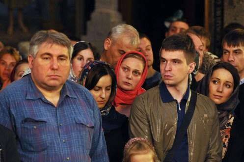 Фото репортаж со Свято-Троицкого Ионинского монастыря г.Киев со Светлого Праздника Воскресения Христова. 177