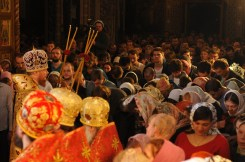 Фото репортаж со Свято-Троицкого Ионинского монастыря г.Киев со Светлого Праздника Воскресения Христова. 79