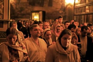 Фото репортаж со Свято-Троицкого Ионинского монастыря г.Киев со Светлого Праздника Воскресения Христова. 88