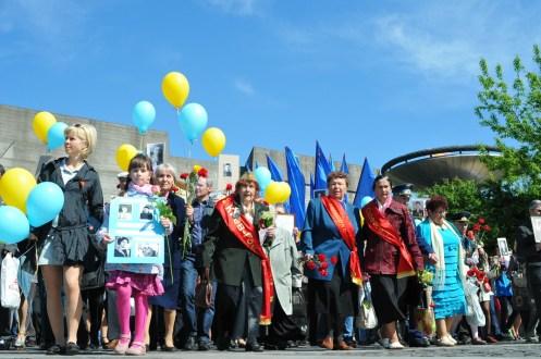 Праздник День Победы. Киев. 9 мая 2014 Фото репортаж. 92