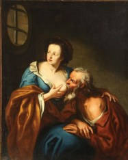 Caritas Romana («милосердие по-римски») Сюжет и картины великих 14