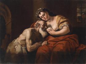 Caritas Romana («милосердие по-римски») Сюжет и картины великих 11