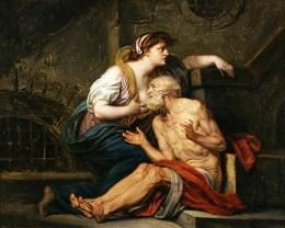 Caritas Romana («милосердие по-римски») Сюжет и картины великих 39