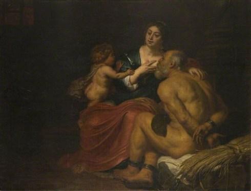 Caritas Romana («милосердие по-римски») Сюжет и картины великих 25
