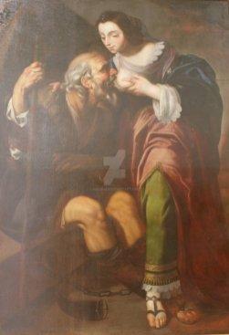 Caritas Romana («милосердие по-римски») Сюжет и картины великих 19