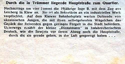 Один день из жизни обычной немецкой девушки в Киеве в 1942 году. Уникальные фото 5