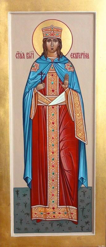 Завтра праздник св. Екатерины. Житие и страдание святой великомученицы Екатерины Александрийской. Иконы большого размера 13