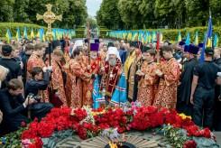 фото, Фото репортаж о поминовении на поле брани убиенных и молитве о прекращении вражды в Украине 9 мая 2018 года, Авторская студия профессионального фотографа Сергея Рыжкова