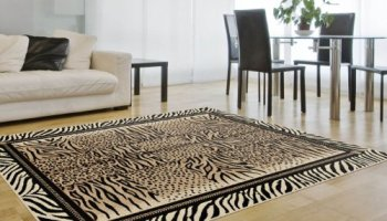Universal Rugs Contemporary Abstract 5 Ft X 7 Ft Area Rug Multi